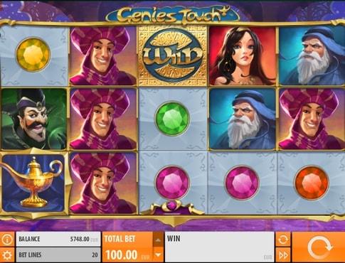 Дикий символ в грі Genies Touch