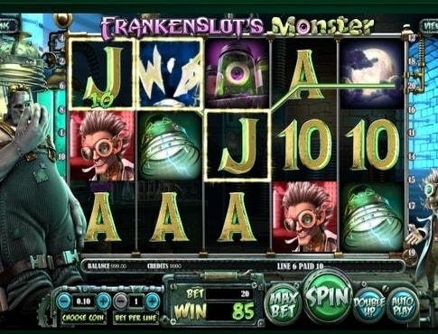 Виграш в автоматі Frankenslots Monster