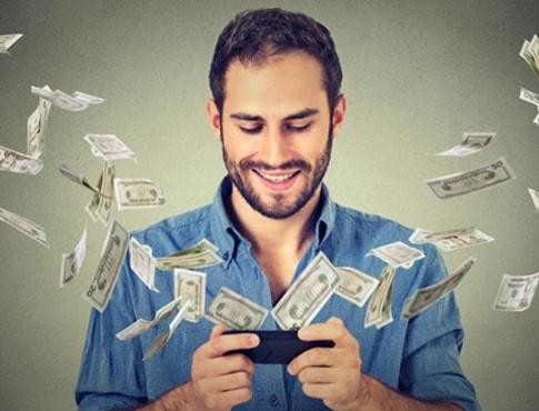Отримання грошей і бонусів з мобільного ігрового автомата
