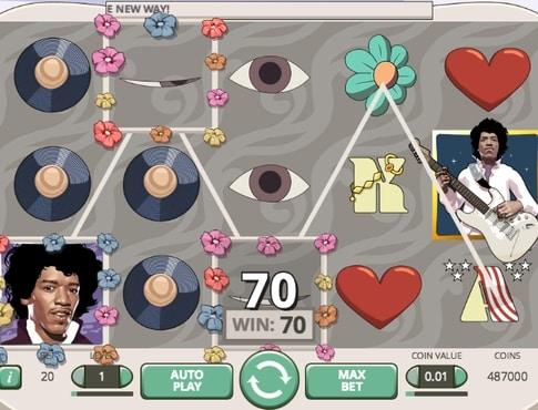 Виграш в онлайн автоматі Jimi Hendrix