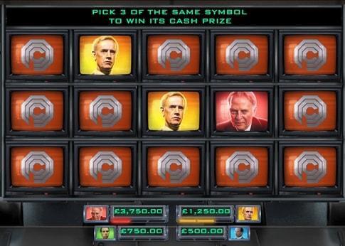 Бонусна гра онлайн апарату Robocop